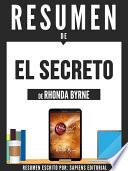 Libro de Resumen De  El Secreto   De Rhonda Byrne