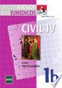 Libro de Juegos Jurídicos. Derecho Civil Iv: Crisis Matrimoniales 1b