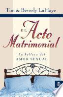 Libro de El Acto Matrimonial