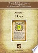 Libro de Apellido Boya