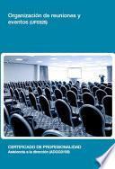 Libro de Uf0325   Organización De Reuniones Y Eventos