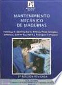 Libro de Mantenimiento Mecánico De Máquinas