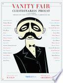 Libro de Vanity Farir: Cuestionarios Proust