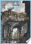 Libro de Diálogo De Los Oradores