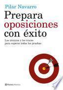 Libro de Prepara Oposiciones Con éxito