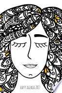 Libro de Happy Agenda 2017: Zentangle Girl