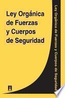 Libro de Ley Organica De Fuerzas Y Cuerpos De Seguridad