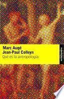 Libro de Qué Es La Antropología