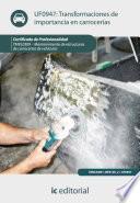 Libro de Transformaciones De Importancia En Carrocerías. Tmvl0309