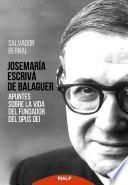 Libro de Josemaría Escrivá De Balaguer