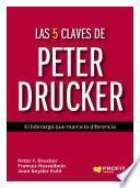Libro de Las 5 Claves De Peter Drucker
