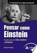 Libro de Pensar Como Einstein