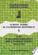 Libro de Actas De Los Duodécimos Cursos Monográficos Sobre El Patrimonio Histórico