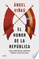 Libro de El Honor De La República