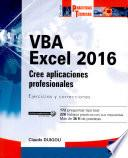 Libro de Vba Excel 2016