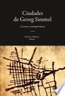 Libro de Las Ciudades De George Simmel