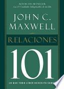 Libro de Relaciones 101