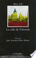 Libro de La Calle De Valverde