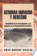 Libro de Genoma Humano Y Derecho