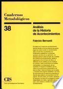 Libro de Análisis De La Historia De Acontecimientos