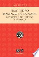 Libro de Fray Pedro Lorenzo De La Nada