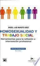 Libro de Homosexualidad Y Trabajo Social