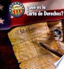 Libro de ¿qué Es La Carta De Derechos?