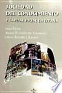 Libro de Sociedad Del Conocimiento Y Capital Social En España