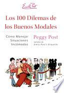 Libro de Los 100 Dilemas De Los Buenos Modales