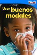 Libro de Usar Buenos Modales (using Good Manners)