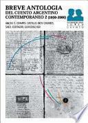 Libro de Breve Antología Del Cuento Argentino Contemporáneo 2, 1950 2000