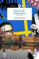 Libro de Diario De Estocolmo