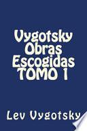 Libro de Vygotsky Obras Escogidas