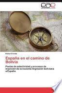 Libro de España En El Camino De Bolivia