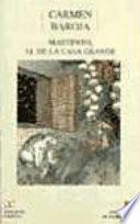 Libro de Martinito, El De La Casa Grande