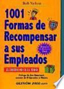 Libro de 1001 Formas De Recompensar A Los Empleados
