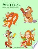 Libro de Animales Libro Para Colorear Para Niños Pequeños 2