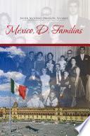 Libro de México, D. Familias
