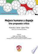 Libro de Mejora Humana Y Dopaje