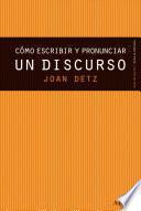 Libro de Cómo Escribir Y Pronunciar Un Discurso