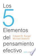 Libro de Los 5 Elementos Del Pensamiento Efectivo