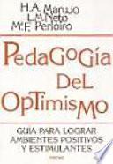 Libro de Pedagogía Del Optimismo