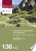 Libro de Avances En El Conocimiento De La Vegetación