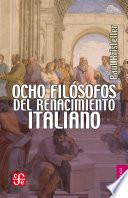 Libro de Ocho Filósofos Del Renacimiento Italiano