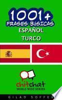 Libro de 1001+ Frases Básicas Español   Turco