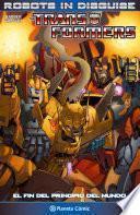 Libro de Transformers Robots In Disguise