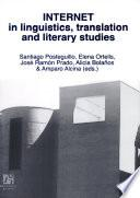Libro de Internet In Linguistics, Translation And Literary Studies