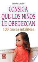 Libro de Consiga Que Los Niños Le Obedezcan