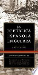 Libro de Trilogía: La República Española En Guerra (pack)