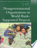Libro de Nongovernmental Organizations In World Bank Supported Projects